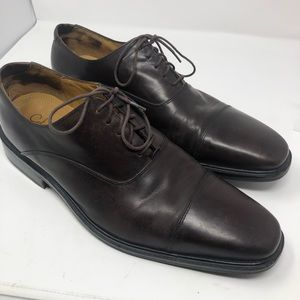 Cole Haan Men Size 13M Brown Leather Oxford Shoes